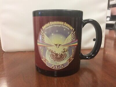 Aerial Common Sensor ACS Lockheed Martin Northrup Grumman Coffee Cup Mug