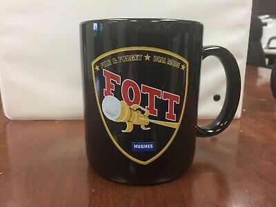 Follow-On To Tow FOTT Missile System Team Hughes Coffee Cup Mug Fire And Forget