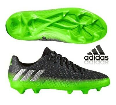 dd1cf5993 adidas Messi 16.1 FG Junior Football Boots Boys Kids Girls Black Size UK 4  EU36