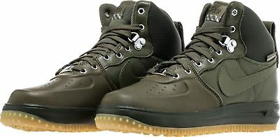 the latest cdeae e0fd9 Nike Lunar Force 1 Sneakerboot Duckboot Medium Olive 706803 202 Youth 7y sz  7