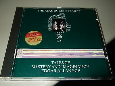 The Alan Parsons Project : Tales Of Mystery Cd Mercury West Germany
