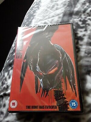 THE PREDATOR(2018)-DVD-New AND Sealed