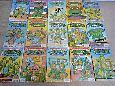 Teenage Mutant Hero Turtles Magazines / 15 Magazines / Eastman & Laird's Posters