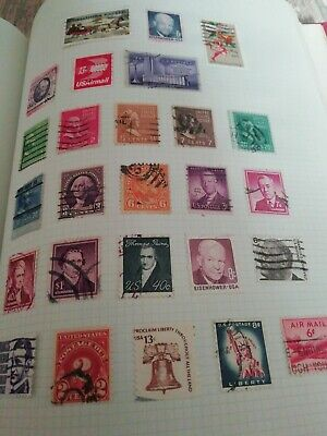 OLD ' STRAND Stamp Album With World Collection many vintage