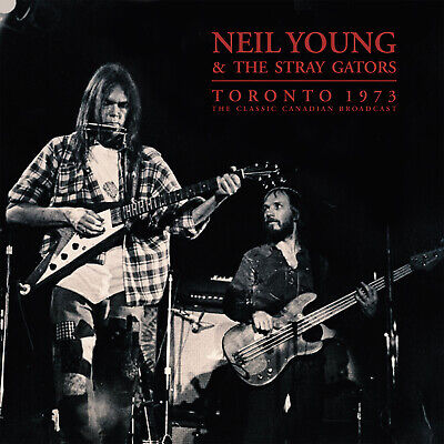 NEIL YOUNG New 2019 UNRELEASED LIVE 1973 TORONTO CONCERT 2 VINYL RECORD SET
