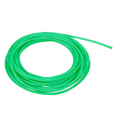Cable Sleeve 16.4ft  2.3mm Dia Tight  Expandable Wire Wrap Sheath Green