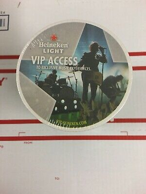 New Unopened Sleeve Of Heineken Light BEER COASTERS