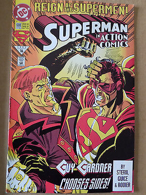 Dc Comic  Reign Of The Supermen #688  Bin 28