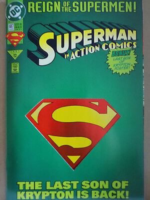 Dc Comic Reign Of The Superman #687  Bin 99