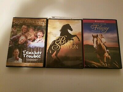 3-Pack Kid's DVDs Including The Black Stallion