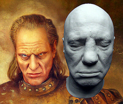 Wilhelm Von Homburg Life Mask: Ghostbusters II - 2 Vigo the Carpathian, Die Hard