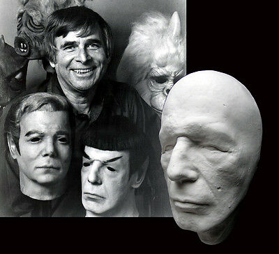 Leonard Nimoy Life Mask from 1975 Don Post Studios Spock Mask not Kirk 75 Myers