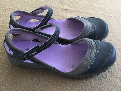 74c93ad35 TEVA 4188 WESTWATER Women s Gray Mary Jane Close Toe Hiking Sport Sandals 7  1 2 -  15.25