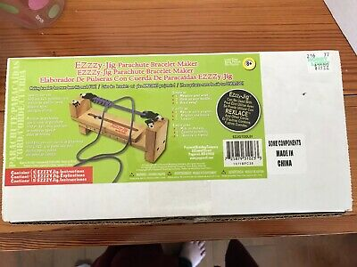 Ezzzy Jig Parachute Bracelet Maker (NEW...other) Parachute Cord or any Cord