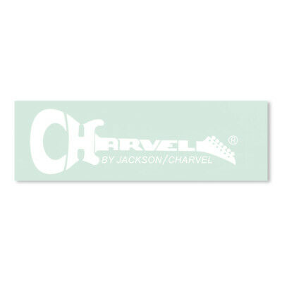 Charvel® Late 1986 (R) Waterslide Headstock Decal WHITE