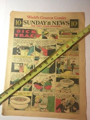 OCTOBER 19 1952 Sunday Comic Section-Roanoke Times-12 Pages