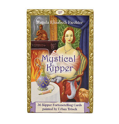 Mystical Kipper Fortunetelling Cards/Oracle Deck - Divination/Meditation/Magick