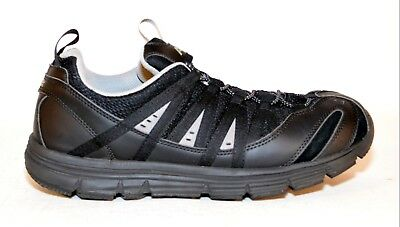 8a3f60250aa79f Apex A5000M Bungee Speed Lace Athletic/Runner Black Mens Shoes Size 10W