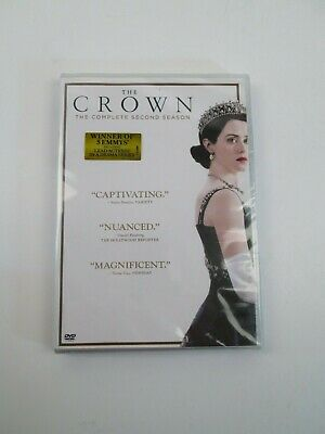 The Crown: Complete Second Season 2 (DVD, 2018, 4-Disc Set) New & Sealed