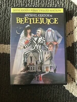 """Beetlejuice (DVD, 2009, Deluxe Edition) """"BRAND NEW """""""