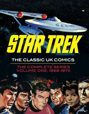 Star Trek: The Classic UK Comics Volume 1 (Hardcover)