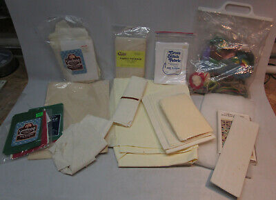 Large Miscellaneous Needlework Supplies Lot