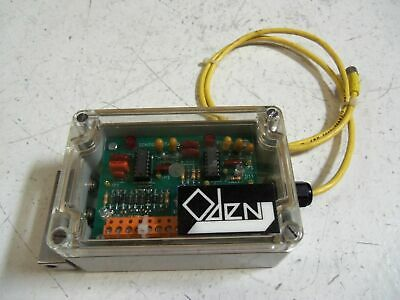Oden Corp. Pc00033 2/92 Control Card *Used*