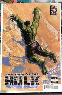 Immortal Hulk #15 - Alex Ross Marvel 25th Variant - 2019 1st Print Unread NM