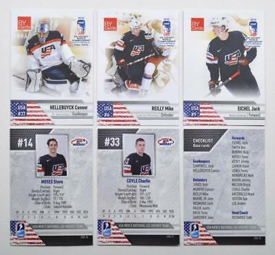 2015 BY cards IIHF World Championship Team USA Pick a Player Card