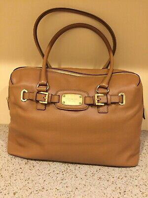 3cb500c4f517 Michael Kors Hamilton Oversize Weekender/Travel Tote Bag – Signature Acorn  Color