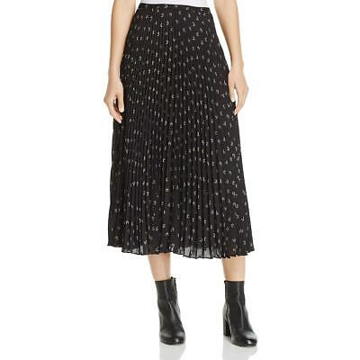 6be8ee3df0 VINCE WOMENS FLORAL Print Midi Going Out Pleated Skirt BHFO 3073 ...