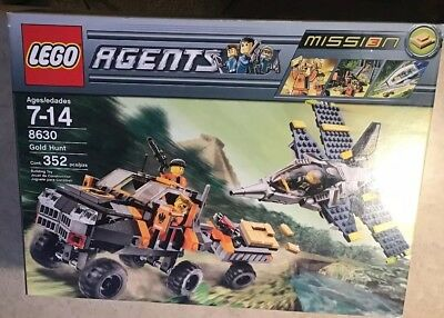 Gold Hunt No Lego bricks INSTRUCTION BOOK ONLY Lego Agents 8630 Mission 3