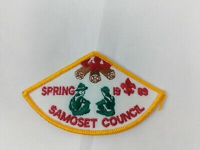 1989 Summer Fun Days Pocket Patch  BSA Great Trail Council OH