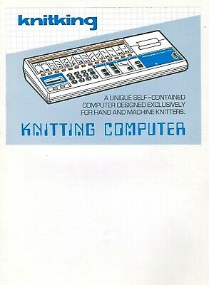 Brother Knitking PPD120 //Compuknit KC INSTRUCTION MANUAL *NEW* Mfg Original