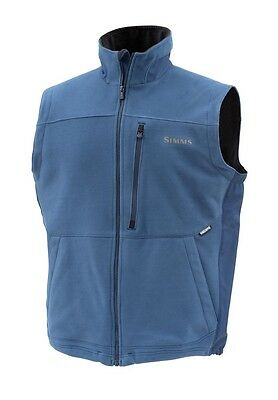 Simms ADL Fleece Vest ~ Navy NEW ~ Closeout Size Small