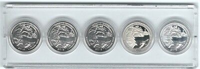 2018 Set of Apostle IS, WI, ATB Qtrs: D, P, S Clad, S Proof & S Silver in Holder