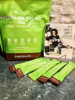 It Works Greens On the Go CHOCOLATE 1 Week Supply (5 Single Packets)