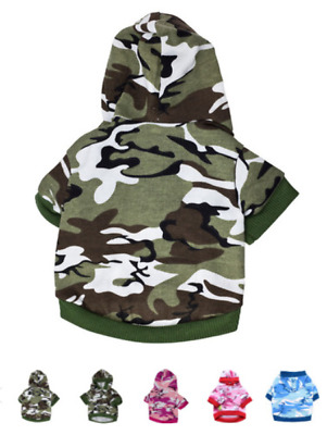 Large 5XL Pet costumes dog clothes camouflage small dogs pet shirts coat apparel