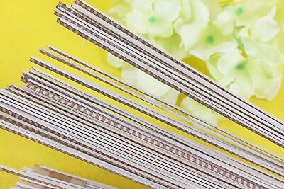 25Strip Luthier Purfling Binding Marquetry Inlay 640x3x1.0mm Guitar Parts #81m