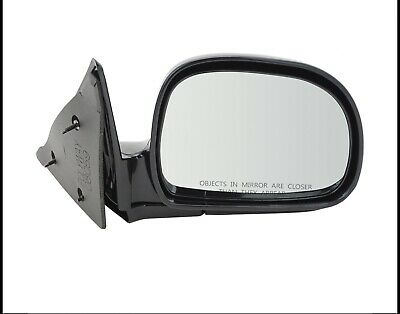 NEW Updated Manual Side View Mirror Set Pair FOR 1999-2005 S10 SONOMA BLAZER