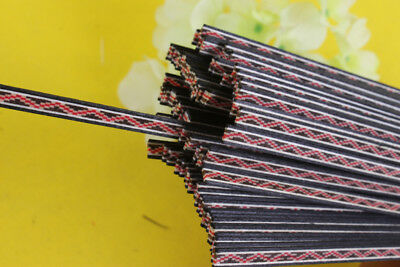 25Strip Luthier Purfling Binding Marquetry Inlay 640x5x1.0mm Guitar Parts #79m