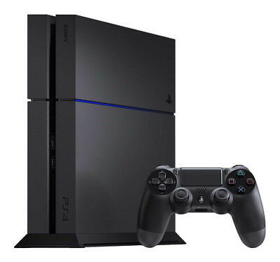 Sony PlayStation 4 (PS4) Original Launch Edition 500GB Jet Black Console