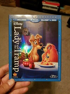 Lady and the Tramp: Diamond Edition (Blu-Ray + DVD)