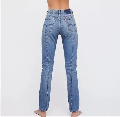 904607f8 Levi's 711 Altered Skinny Jeans as sold by Free People Size 30 NWT msrp $98
