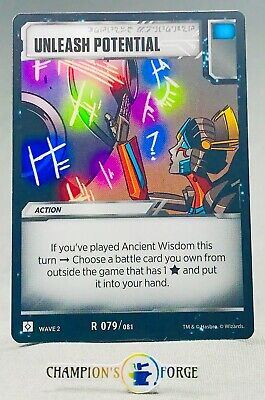 Transformers TCG Rise of the Combiners Rare DECEPTICON CROWN R017