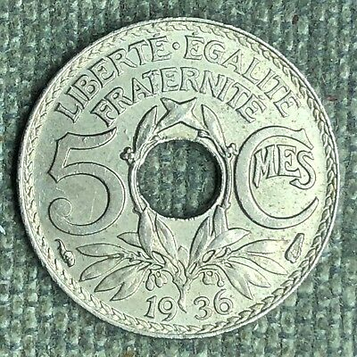 France 5 Centimes, 1936 - 02535