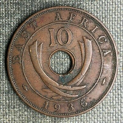 East Africa 10 Cents, 1936 - 02707
