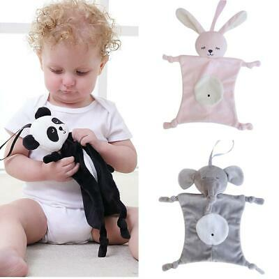 BL_ Baby Infant Cartoon Plush Soothing Towel Blanket Baby Security Plush Toy Hea
