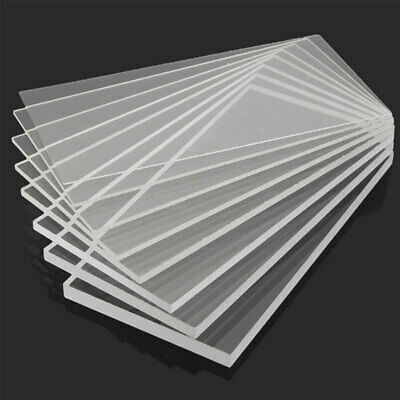 Clear Acrylic Perspex Sheet Cut To Size Plastic Plexiglass Panel DIY 1.5 lsd
