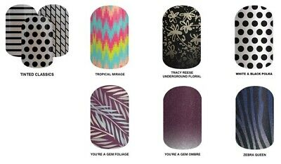 JAMBERRY NAIL WRAPS - FULL WRAP SHEETS, MANY CHOICES, includes extras, BRAND NEW